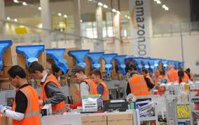 business amazon warehouse jobs push workers physical limit