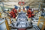 Welding robots at Great Wall's Tianjin plant
