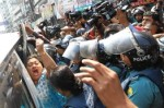 Strike in Bangladesh