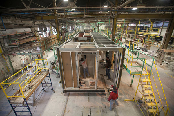 Om In The News Modular Construction In New York City