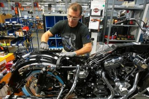 Harley's York PA plant