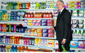 Unilever CEO Polman and his products