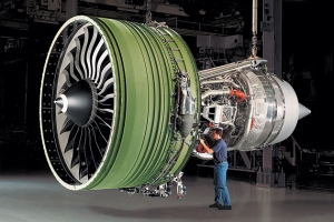 GE produces one of the world's most powerful engines