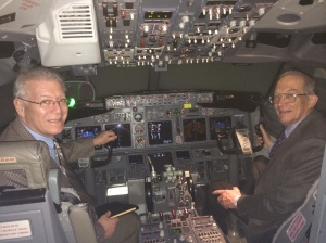 Barry and Jay at Alaska Airlines