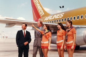 Upstart Southwest Air in 1971