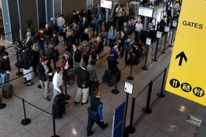The TSA wants to speed up this line. Really.
