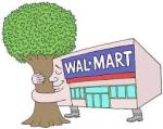 wal mart green
