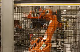 robot cage