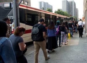 Queuing in Canada