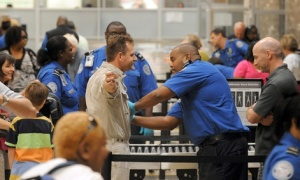 TSA checkpoint in Atlanta