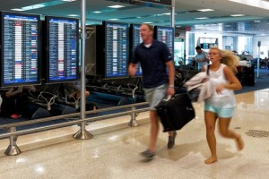 Shorter connecting times mean runs of up to 1.1 miles in Miami's airport