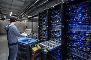 Facebook's servers require only 75 employees in this massive facility