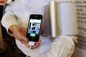 New smartphone tools, like blood pressure monitors, aim to give more power to patients
