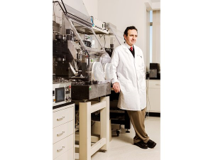 Atala's  3-D bioprinter. His 2011 TED talk on bioengineered organs has been viewed more than 2 million times.