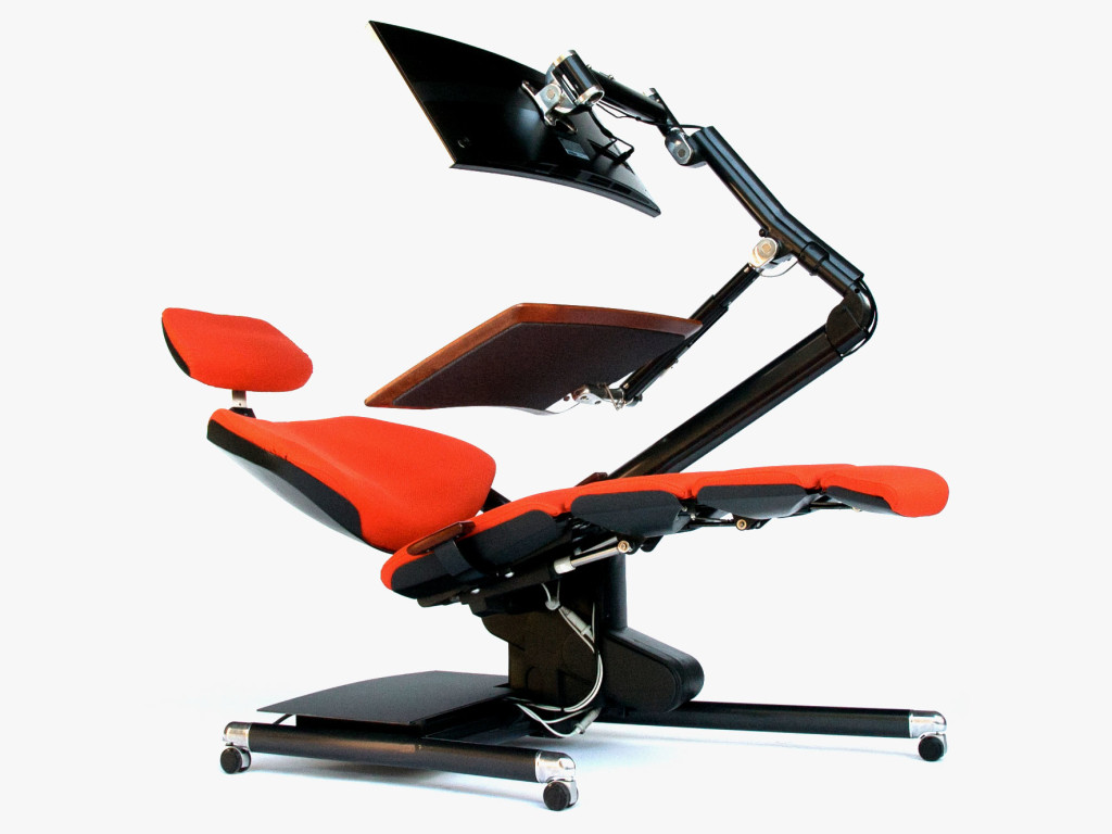 Om In The News The Ultimate Ergonomic Desk Jay Barry