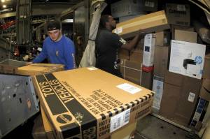 "UPS's ""white glove"" delivery market is one of the fastest growing areas of e-commerce, in which drivers are required not only to deliver but unpack and install bulky items in customers' homes."