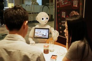Pizza Hut's Pepper robot