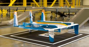 An Amazon Prime Air drone.