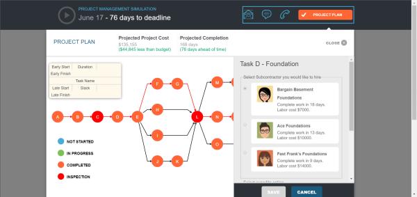project management sim 1