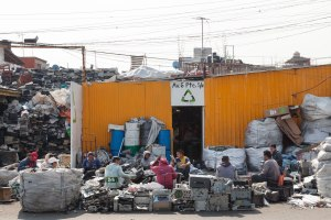 Life and business revolve around electronic waste in this Mexico City neighborhood, much of it from the U.S.
