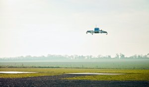 Drone used to make Amazon's first commercial delivery, in England
