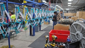 Kent International plans to produce 500,000 bikes in the U.S. in 2017, and has set a target to ramp up to more than 1 million bicycles by 2020.