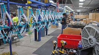 Kent International plans to produce 500,000 bikes in the U.S. in 2017, and more than 1 million by 2020.