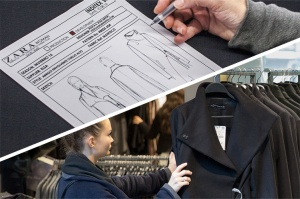 Zara's identifies trends and quickly moves garments from sketch pads to stores