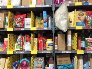 "The shelf arrangement makes sense for many small orders that ""look"" random."