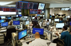 Johns Hopkins Hospital's state-of-the-art, advanced hospital control center